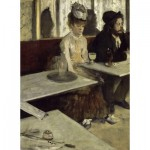 Puzzle  Dtoys-72801-DE01 Degas Edgar: In a Café