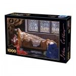 Puzzle  Dtoys-73822-CO01-(73822) John Collier - The Sleeping Beauty