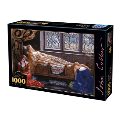 Puzzle Dtoys-73822 John Collier - The Sleeping Beauty