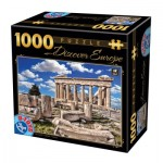 Puzzle  Dtoys-74867 Discover Europe - Akropolis