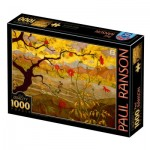 Puzzle  Dtoys-77431 Paul Ranson - Apple Tree with Red Fruit