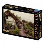 Puzzle  Dtoys-77639 Peder Mørk Mønsted - Children in the Flower Garden