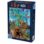 Puzzle   Cartoon Collection - New York