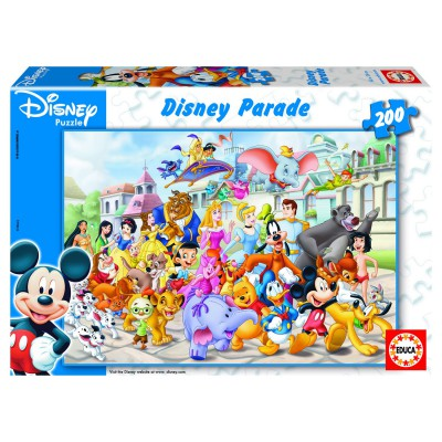 Puzzle Educa-13289 Disney Parade