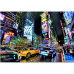 Educa-15525 Puzzle 1000 Teile: Times Square, New York