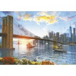 Puzzle  Educa-16782 Dominic Davison: New York Sunset
