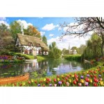 Puzzle  Educa-16784 Dominic Davison: Lakeside Cottage