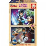 Educa-16797 2 Holzpuzzles - Disney Junior