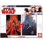 Educa-17464 2 Puzzles - Star Wars