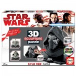 Educa-17802 3D Puzzle Sculpture - Star Wars Star Wars Kylo Ren