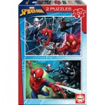 Educa-18101 2 Puzzles - Spider-Man
