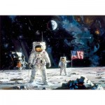Puzzle  Educa-18459 First Men on the Moon