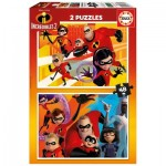 2 Puzzles - Incredibles 2