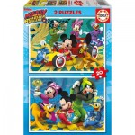 2 Puzzles - Mickey & the Roadster Racers