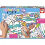 Colouring Puzzles - Meerestiere