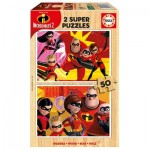 Holzpuzzle - Incredibles 2