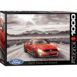 Puzzle   2015 Ford Mustang GT Fifty Years of Power