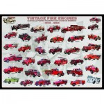 Puzzle  Eurographics-6000-0239 Oldtimer Feuerwehrautos