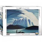 Puzzle  Eurographics-6000-0924 Lake and Mountains by Lawren Harris
