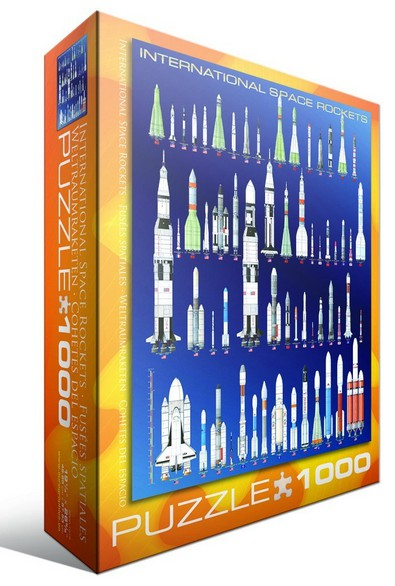 Puzzle Eurographics-6000-1015 Internationale Weltraumraketen