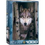Puzzle  Eurographics-6000-1244 Grauer Wolf