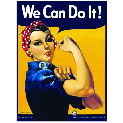 Puzzle Eurographics-6000-1292 Rosie the Riveter: We Can Do It!