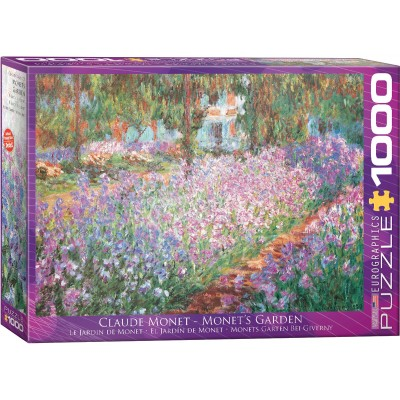 Puzzle Eurographics-6000-4908 Claude Monet - Giverny