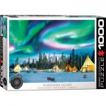 Puzzle  Eurographics-6000-5435 Northern Lights - Yellowknife