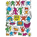 Puzzle  Eurographics-6000-5513 Keith Haring - Collage