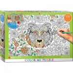 Puzzle  Eurographics-6055-0890 XXL Color Me - Tiger
