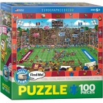 Puzzle  Eurographics-6100-0474 Find Me - Amerikanischer Football