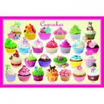Puzzle  Eurographics-6100-0519 Cupcakes