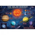 Puzzle  Eurographics-6500-5369 XXL Teile - The Solar System Illustrated