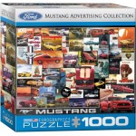 Puzzle  Eurographics-8000-0748 Ford Mustang Advertising Collection