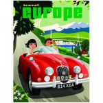 Puzzle  Eurographics-8000-1645 Reise in Europa
