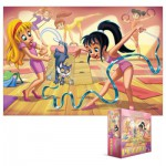 Puzzle  Eurographics-8100-0415 Go Girls Go! Turnen