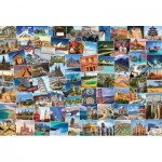 Puzzle  Eurographics-8220-5480 World Globetrotter