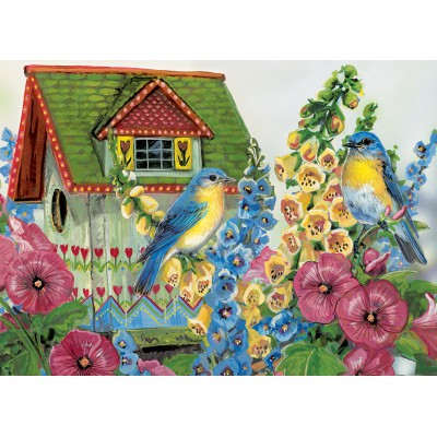 Puzzle Eurographics-8300-0603 Janine Grende: Country Cottage
