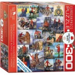 Puzzle  Eurographics-8300-0777 XXL Teile - Royal Canadian Mounted Police