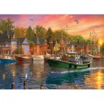 Puzzle   Dominic Davison - Harbor Sunset