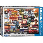Puzzle   Ford Mustang Advertising Collection