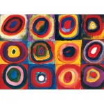 Puzzle   Kandinsky Vassily - Color Study of Squares
