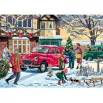 Puzzle   Vic McLindon - December Shopping