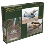 Jumbo-11059 3 Puzzles - Victory by Air