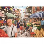 Puzzle  Jumbo-11111 Kevin McGivern - Market Day