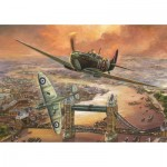 Puzzle  Jumbo-11126 Jim Mitchell - Spitfire over London