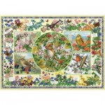 Puzzle  Jumbo-11131 Sarah Adams - The Country Garden