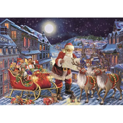 Puzzle Jumbo-11173 XXL Teile - The Christmas Journey