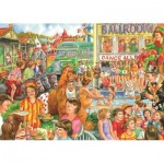 Puzzle  Jumbo-11174 Jim Mitchell - Holiday Camp