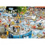 Puzzle  Jumbo-11198 Graham Thompson - Cruise Chaos